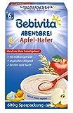Bebivita Abendbrei Apfel-Hafer, 4er Pack (4 x 600 g)
