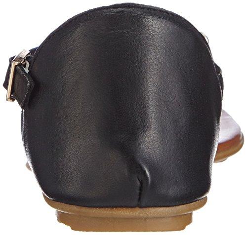 Inuovo BREEZE, Damen Sandalen Schwarz (Black Leather)