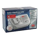 boso medicus uno XL Oberarm-Blutdruckmessgerät, großem Display, Inklusiv XL-Manschette, 32-48cm