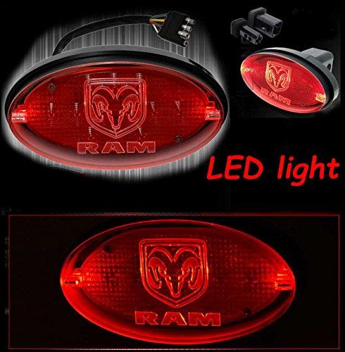 led-remolque-bandeja-iluminada-emblema-memoria-head-ovalado-dodge-ram-1500-2500-3500