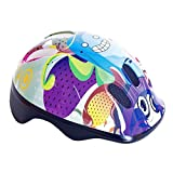 KIDS CHILDRENS BOYS GIRLS CYCLE SAFETY HELMET BIKE BICYCLE SKATING 49-56cm (Bubbles)
