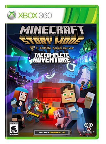 Minecraft: Story Mode- The Complete Adventure - Xbox 360 - REGION FREE