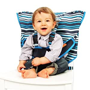 My Little Seat The Travel Highchair (Hudson Stripe, 6 - 36 Months)