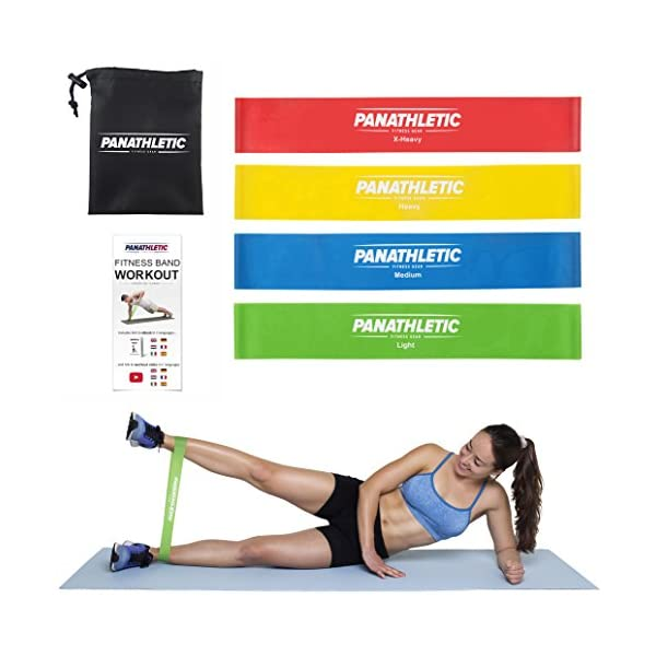 POWER GUIDANCE Latex Resistance Loop Bands Fitness Bands Set Yoga Exercise