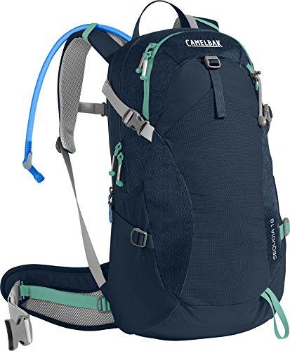 CamelBak Products LLC Damen Sequoia 18 Hydration Pack Trinkrucksack, Navy Blazer/Mint Green, 100 oz