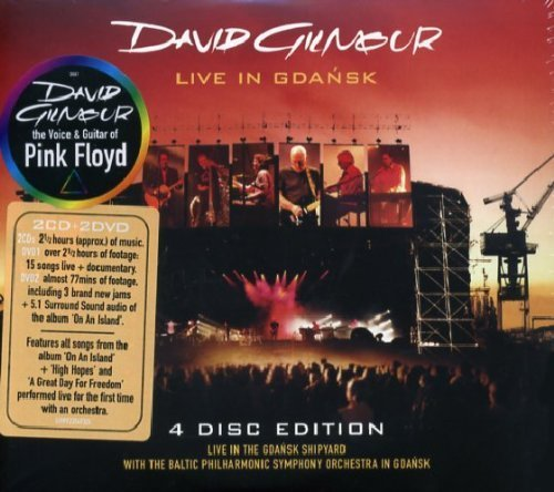 Live in Gdansk (4 Disc Edition) by Gilmour,David (2008-09-23)