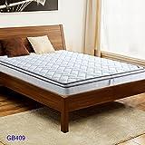 sitang sección loco para crear una cómoda para dormir + acero integral agradable a la piel transpirable y lavable colchón de coco 3D de alta manganeso GB409 - 11 (K)