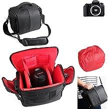 Pour Canon EOS 77D: Sac Sacoche Gadget pour appareil photo reflex num