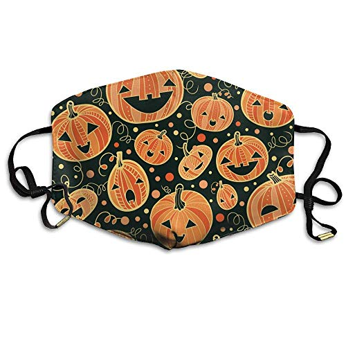Daawqee Staubschutzmasken, Earloop Face Mouth Masks Dustproof Anti-flu Warm Dust Mask Washable Women Halloween ()