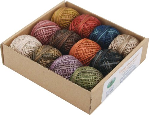 valdani-inc-jpatton-hand-overdyed-perle-cotton-thread-balls-size-12-designer-set-12-pkg-vintage-by-v