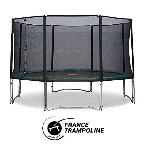 Fitness y ejercicio Trampolines de exterior France Trampoline Lienzo de salto para waouuh 390