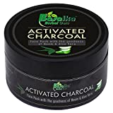 #3: Basaika Activated Charcoal Neem Aloe Vera Face Pack with 100% natural ingredients & Parabeen Free, 100gms (Clears germs | Detox properties | Blackhead Removal|Anti Pollution Shield | Deep Cleansing & Skin Nourishment)Ideal for Men & Women (100 Grams)