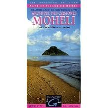 Carte routière : Moheli (Archipel des Comores)