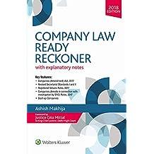 Company Law Ready Reckoner