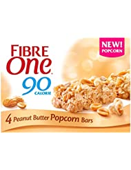 Fibre One L22 F1 Popcorn Peanut, 8 x 4 x 21 g UK