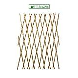 SL&ZX Bambuszaun,Outdoor bambuszaun Arden Zaun Gartenzaun Partition zierrahmen Bambus Klettern Rahmen gartenzaun-C 120x180cm(47x71inch)