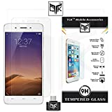 TGK™ Combo for Vivo Y55L (Combo of 1 Tempered Glass + 1 OTG Adapter) - TGK™ Ultra Clear Premium HD Tempered Glass Screen Protector With Rounded Edges (Precise Cut-Outs for Front Camera & Sensor) + OTG Adapter