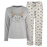 Maison De Nimes Hedgehog Pyjama Set Womens Ivory Tops Pajamas Ladies Sleepwear Small