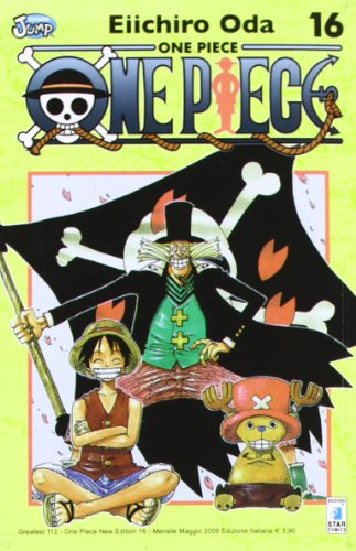 One piece. New edition: 16