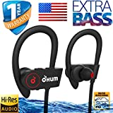 OHUMLABS bluetooth earphone 8hrs earhook extrabass mobile headset best sporty youth edition good