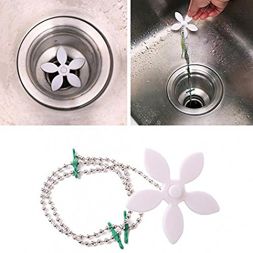 jhtceu 1 Stück Home Bad Dusche Abfluss Waschbecken Haarfänger Verstopfen Haarentfernung Werkzeug