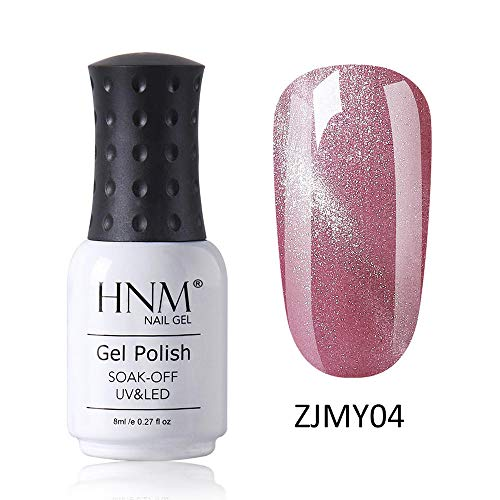 HNM Vernis Semi-Permanent Starry 3D Oeil de Chat Gel Vernis À Ongles Vernis UV Couleur LED Soak Off Salon De Manucure 8ML ZJMY-04