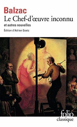 Le Chef-d'?uvre inconnu et autres nouvelles by Honoré de Balzac (2005-04-21) par Honoré de Balzac