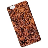 Slim Case for iPhone 6 Plus, 6s Plus. Tasche Cover. Tooled Leather Look.