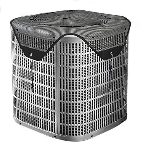 Foozet Zentraler Klimaanlage, Sommer Top für Outdoor AC Einheiten 36x36 Schwarz -