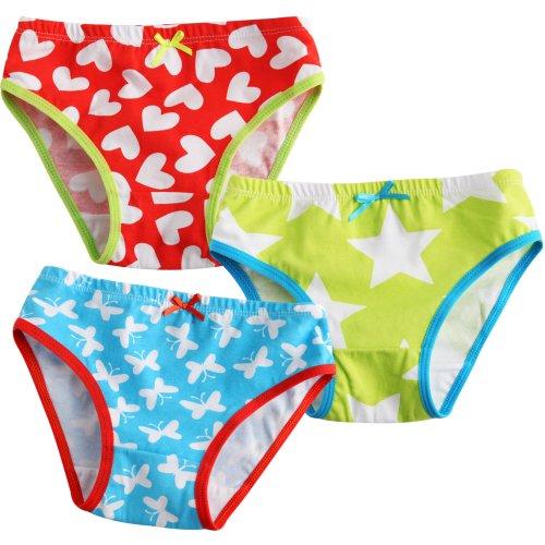 Vaenait Baby Kleinkind Kinder Madchen Unterwasche Slips 3-Pack Set Picnic M