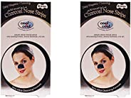 Cool & Cool Charcoal Nose Strips 2 X 6 Strips, Pack