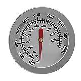 non-brand MagiDeal Ofenthermometer Rohr Thermometer Messgerät für Kaminofen, Messbereich 50~500 ℃