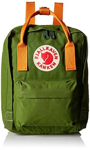 fjallraven-kanken-16-mini-mochila-29-cm-leaf-green-burnt-orange