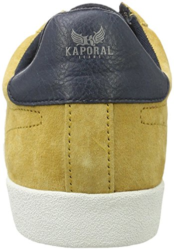 Kaporal Kanior, Baskets Basses Homme Jaune (Moutarde)