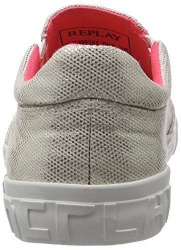 Replay Damen Driver Sneakers Grau (PLATIN 45)