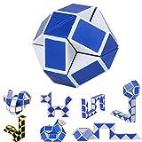 Magia Serpiente Juego de 3 puzles para niños, diseño de puzle con Regla mágica, Plegable, telescópico, Juguetes educativos para niños y Estudiantes, Regalo