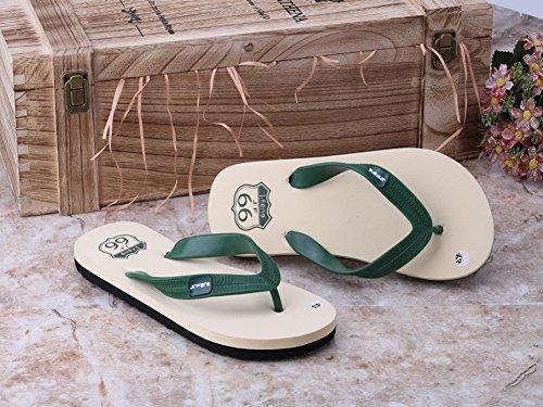 Wealsex sandalen herren zehentrenner B Grün