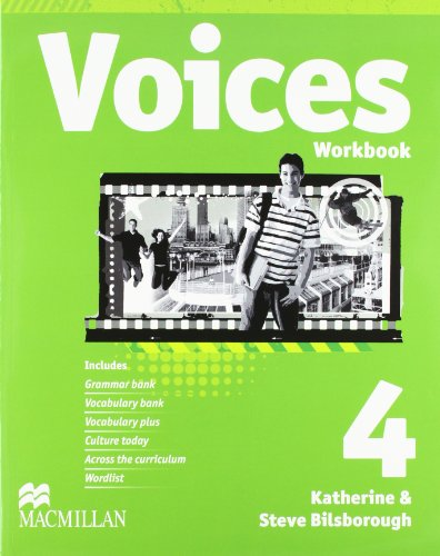 VOICES 4 Wb Pk Eng - 9780230730915