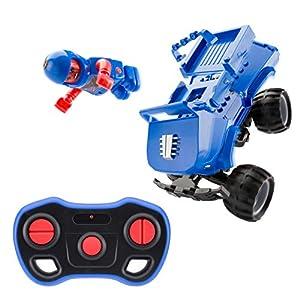 Monster Smash Ups Carnage Camión Monstruo pequeño RC Juguete para niños