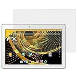 atFolix Schutzfolie für Lenovo Tab 2 A10-30 / A10-70 Displayschutzfolie - 2 x FX-Antireflex blendfreie Folie