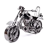 Modèle de Moto de Fer Véhicule Miniature Moto Ornements Modernes Comme Cadeau d'Anniversaire Accessoire de Photographie