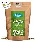Lilabu Babytee (100g, Bio) - Bio-Bäuchleintee - 100% Bio-Zutaten, ohne Zusätze - reines Naturprodukt nach altem Hebammenrezept- empfohlen von miBaby.de