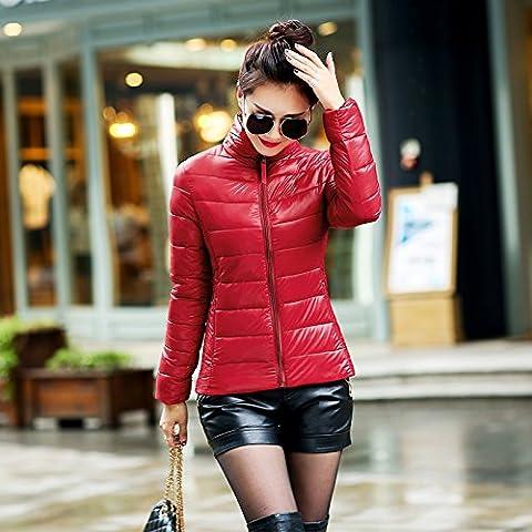WJP donne ultra leggero rivestimento Packable gi? Outwear tampone piumino W-1814