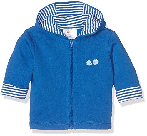 Julius Hüpeden GmbH Twins Baby Jungen Sweat Jacke mit Kapuze, Blau (Blau 3502), 5-6 Monate (Herstellergröße: 68)
