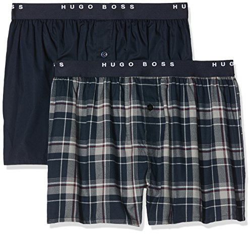 BOSS Herren 2P Boxer Shorts EW, 2er Pack, Mehrfarbig (Open Miscellaneous 980), Medium (Herren-bademode Boss Hugo)
