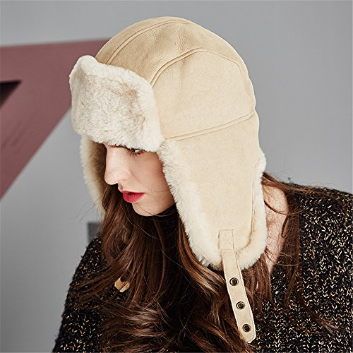 Kenmont Womens Trapper Hats Ladies Winter Hats Luxury Sheep Cashmere