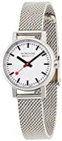 Reloj de mujer Mondaine A658.30301.11SBV de cuarzo, correa de acero inoxidable color plata de Mondaine