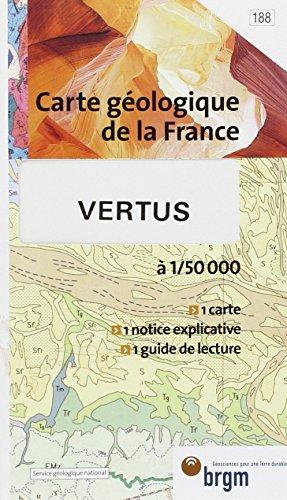 Carte géologique : Vertus par Cartes BRGM