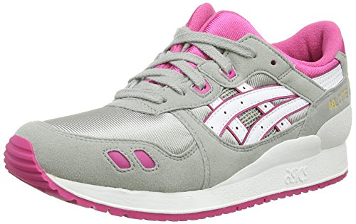 ASICS Gel Lyte III GS, Chaussures Multisport Outdoor Mixte adulte Gris (Light Grey
