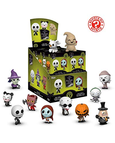 Horror-Shop The Nightmare Before Christmas Mystery Mini Blind Box Sammelfigur (Mystery Box Halloween)